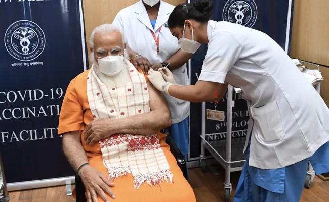 PM Modi Calls For Mass Vaccination, 4-Day 'Tika Utsav' Starts Today