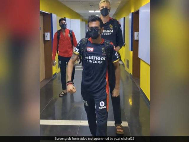 IPL 2021: Yuzvendra Chahal, Kyle Jamieson March To WWE Legend Undertakers Entrance Theme. Watch