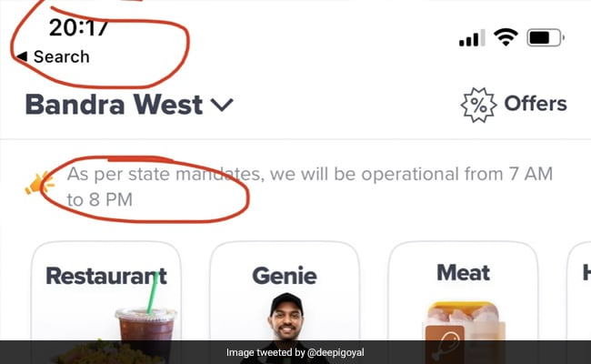 Zomato CEO Calls Out Swiggy For Night Deliveries. Mumbai Police Clarifies