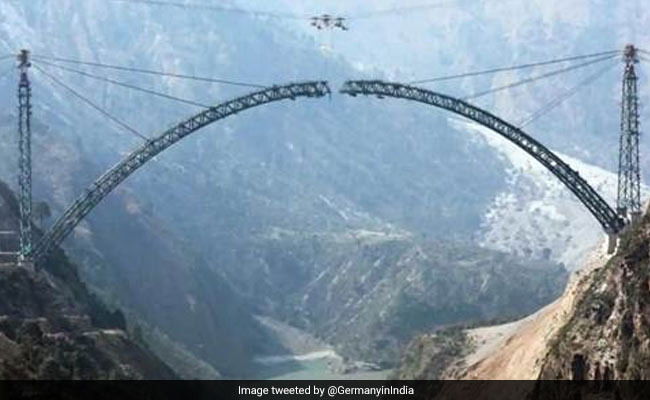 Twitter Aces German Embassy's Question On Chenab Bridge