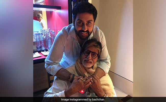 'Pride Of A Father,' Writes Amitabh Bachchan After The Success Of Abhishek's The Big Bull
