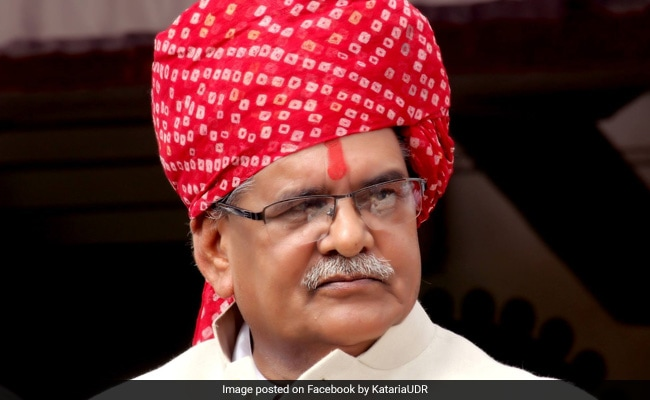 After Outrage Over Remarks On Maharana Pratap, BJP Leader Apologises