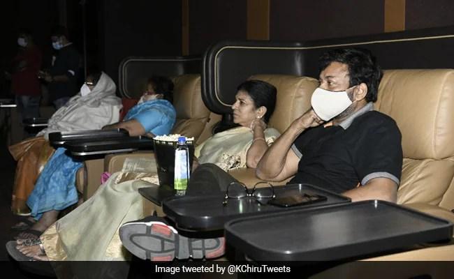 Vakeel Saab: Chiranjeevi And Family Watch Pawan Kalyan's Film
