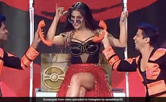 सारा अली खान ने परफॉर्म किया, 'हुस्न है सुहाना' – वीडियो देखें गीत पर एक भयंकर नृत्य किया