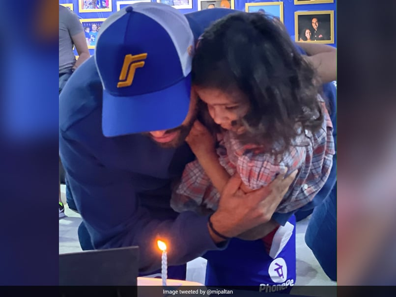 Rohit Sharma Birthday: Mumbai Indians Post Snaps From