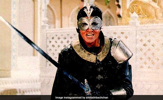 Remember Ajooba? It's Been 30 Years. Read What Amitabh Bachchan Posted