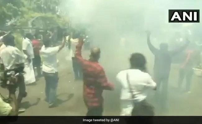Tamil Nadu Assembly Polls: Cop Suspended For DMK Headquarters Celebration