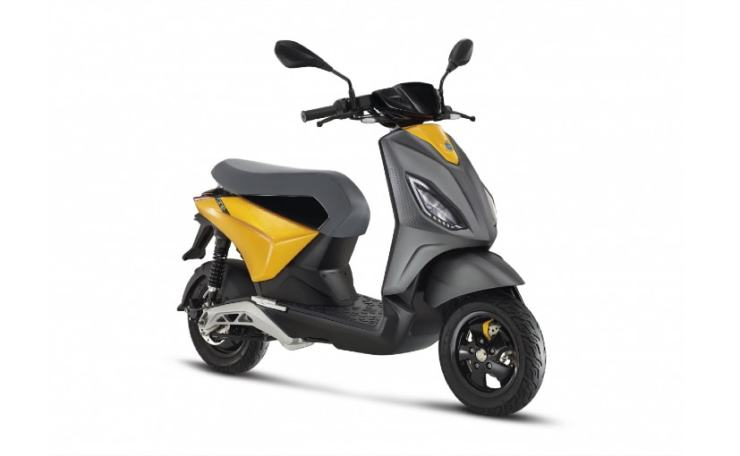 The Piaggio One electric scooter was unveiled in China last month
