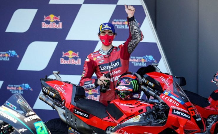 This is second victory in Jack Miller's career and the first with Ducati
