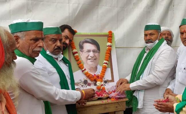 किसान आंदोलन की कामयाबी ही चौधरी अजित सिंह को सच्ची श्रद्धांजलि : राकेश टिकैत