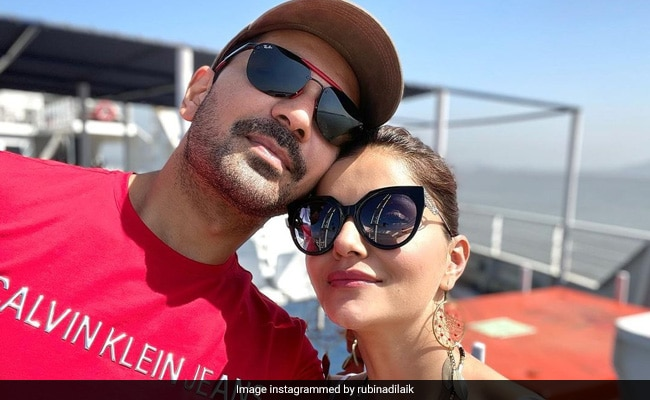 'One Month Of Not Being In Your Arms,' Writes Rubina Dilaik For This Person - Easy Guess