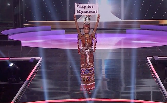 'Our People Are Dying': Myanmar Contestant At Miss Universe Pageant