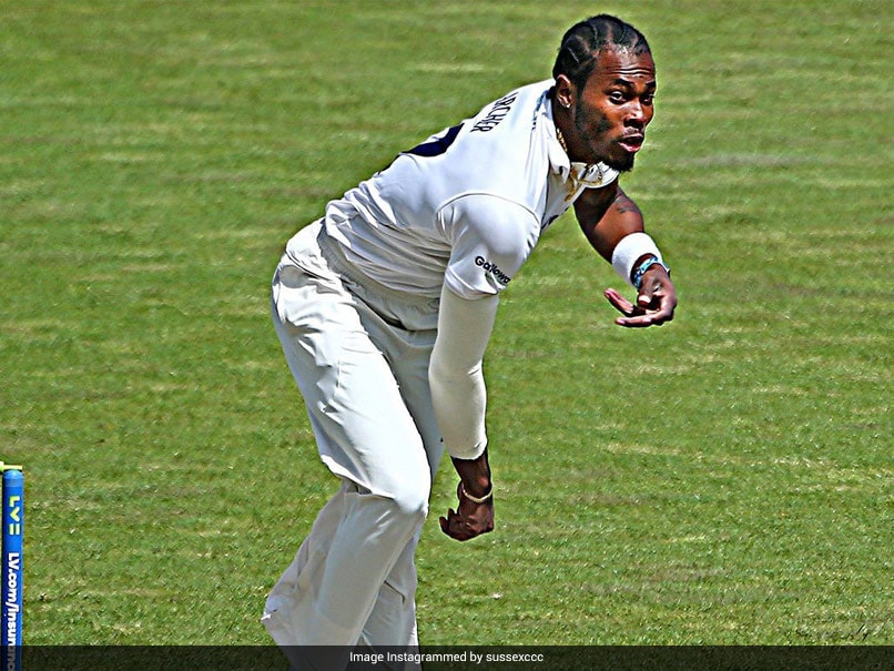 Jofra Archers Recovery Progress To Be Checked By Consultant In 4 Weeks: ECB