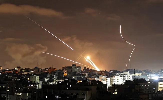 Hamas Says 130 Rockets Fired At Israel, Raid Sirens In Tel Aviv