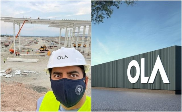 Bhavish Aggarwal - CEO - Ola Electric recently paid a visit to the mega factory in Tamil Nadu