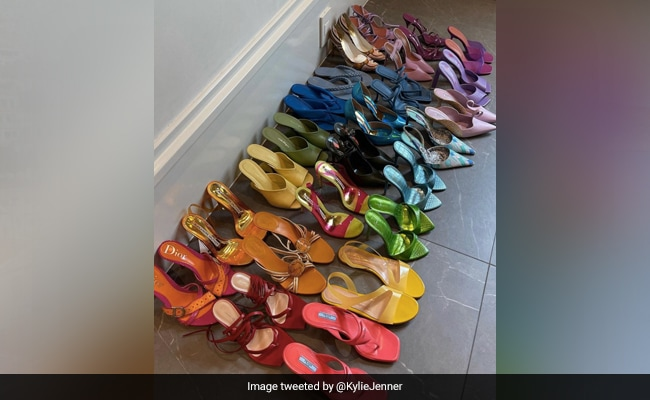 Why Kylie Jenner's Shoe Collection Has Desi Twitter Abuzz