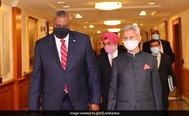 S Jaishankar, US Defence Chief Discuss Shared Priorities, Regional Security Challenges