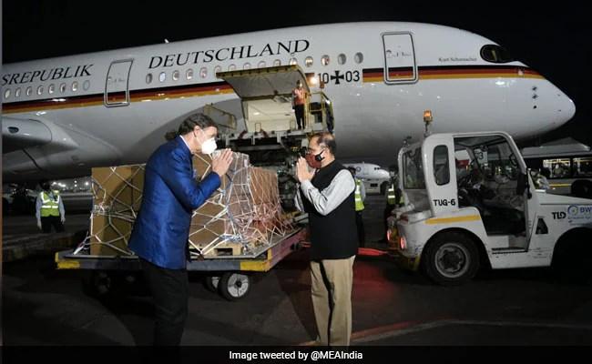 Germany Sends 120 Ventilators To India To Help Fight Coronavirus Pandemic