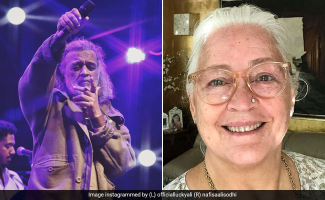 'Lucky Ali is fine.  No coward: His friend Nafisa Ali hit the rumor of death