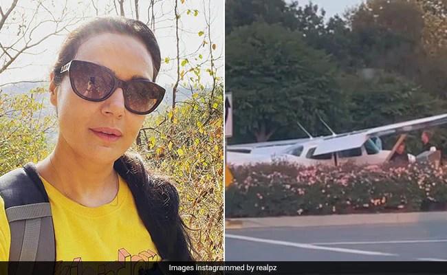 प्रीति जिंटा ने शेयर किया सड़क पर लैंड हुए प्लेन का Video, बोलीं- कभी नहीं सोचा था ऐसा होगा