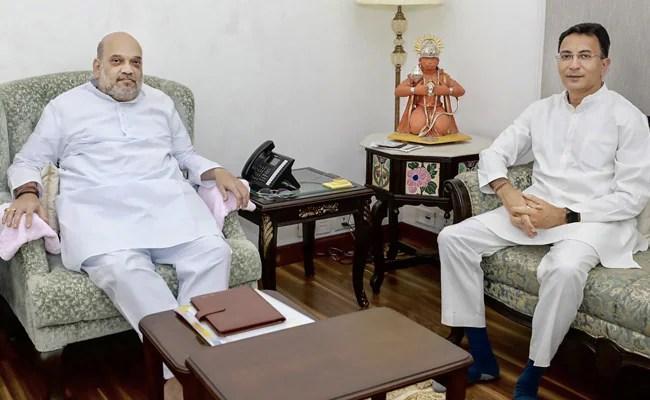 Congress 'Party Of Family', 'Jitin Prasada Secure In BJP': Rebel Raebareli MLA