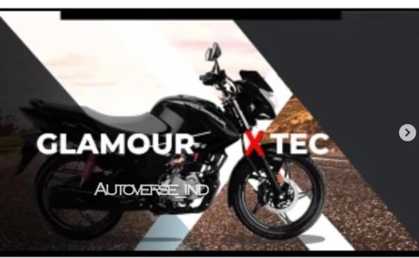 Hero Glamour XTEC is likely to be positioned as the top-spec variant in the Glamour line-up