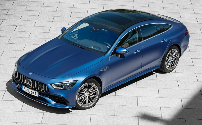 The 2022 Mercedes-AMG GT Four-Door will be offered with both six-cylinder and V8 engine options