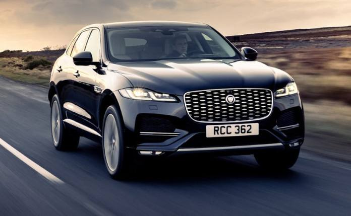 The 2021 Jaguar F-Pace facelift is offered in the single R-Dynamic S trim.