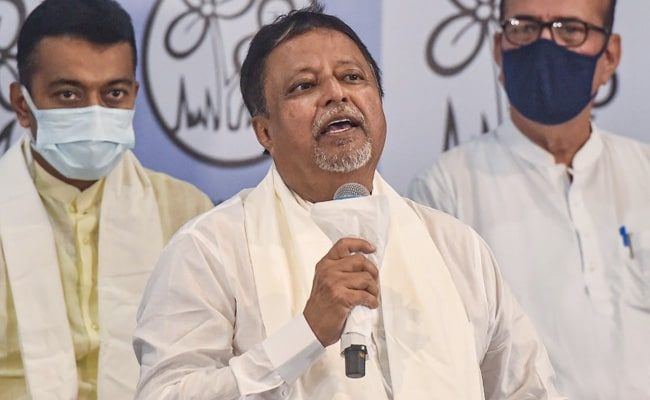 Trinamool's Mukul Roy Takes Charge As Chief Of Top Bengal Assembly Panel