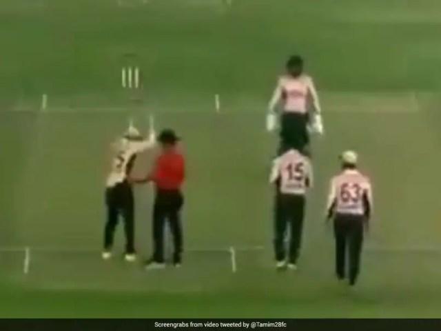 Watch: Shakib Al Hasan Goes Berserk At Umpire, Twice Over, In Dhaka League Match