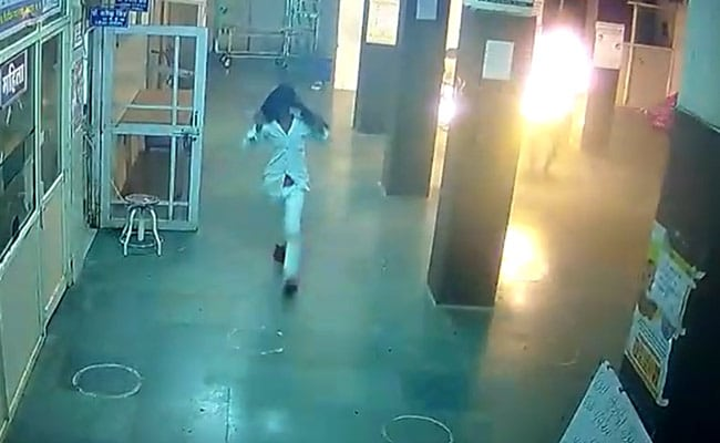 On Camera, Man Set On Fire In Hospital By Attacker Who Sent Him There