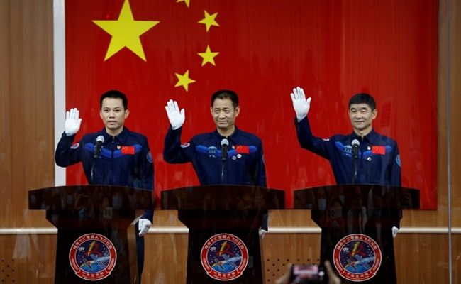 China To Launch High-Stakes Crewed Mission To Space On June 17