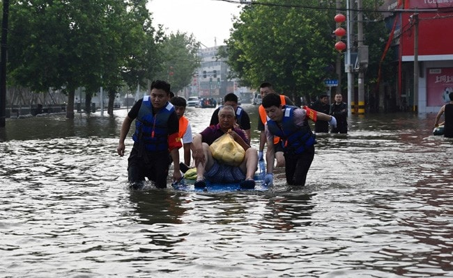 Death Count In Central China Floods Rises To 302, 50 Missing