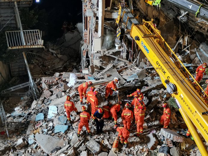 Final Death Count In China Hotel Collapse Is 17
