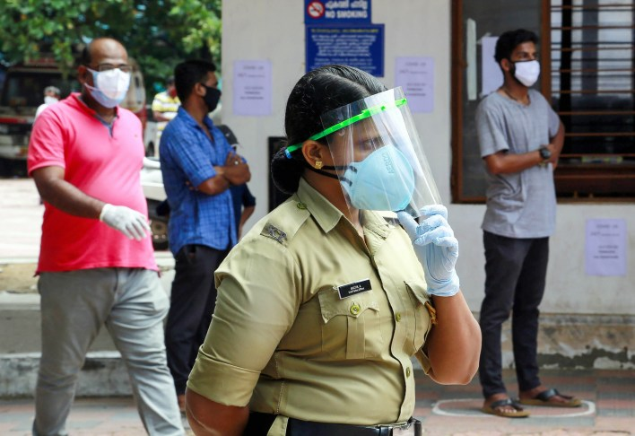 Kerala Reports 23,676 New COVID-19 Cases, 148 More Deaths