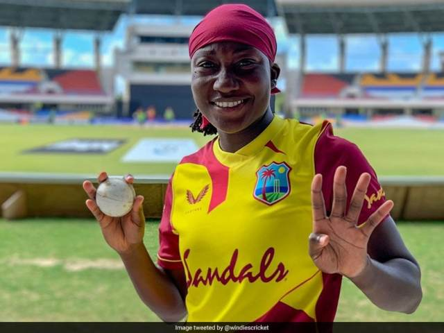 West Indies Women Vs Pakistan Women: Stafanie Taylor Becomes 2nd West Indian To Take T20I  Hat-Trick In Womens Cricket