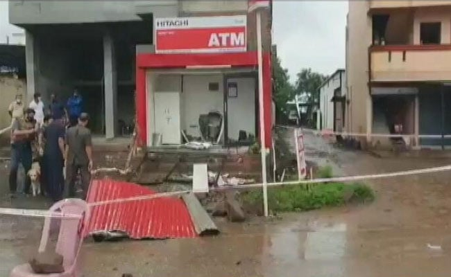 Robbers Blow Up Atm In Pune, Depart Behind Rs 10 Lakh