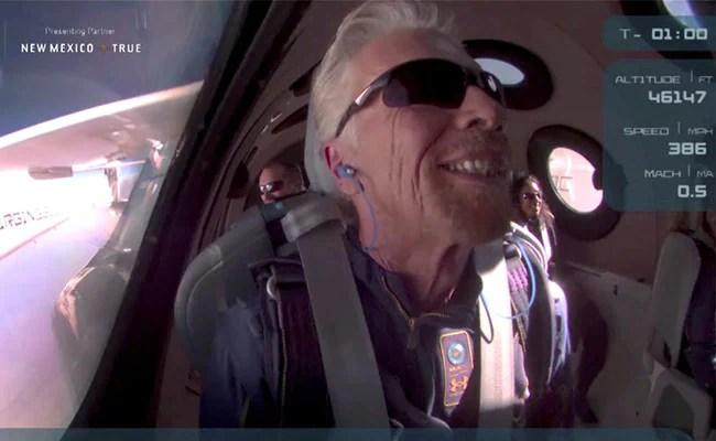 What Jeff Bezos, Upstaged In Spaceflight Race, Told Richard Branson