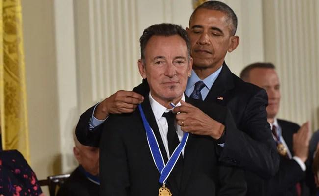 Barack Obama, Bruce Springsteen To Release Book Based On Podcast In October