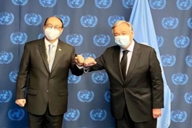 Foreign Secretary Meets UN Chief, Discusses Security Council Reforms