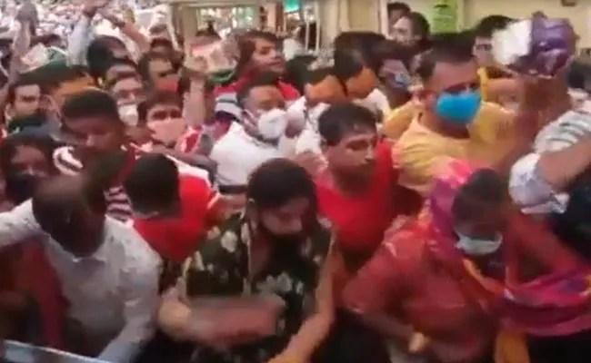 Children, Women Injured In Ujjain Temple Stampede Due To VIP Visits