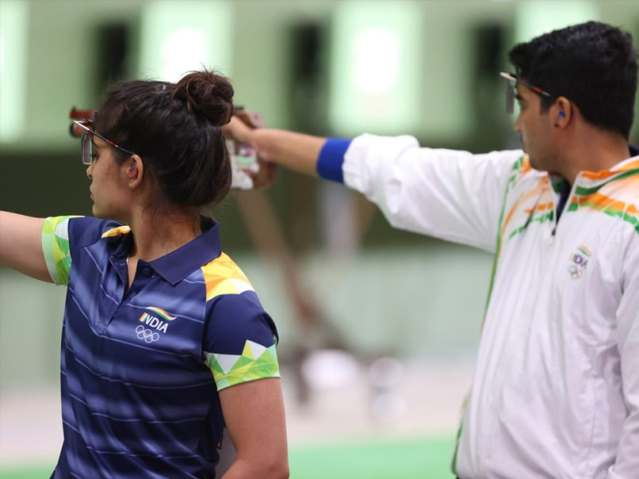 Tokyo Olympics: Indians Misfire In 10m Mixed Air Pistol Qualifiers, Fail To Make Finals