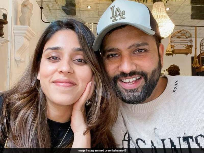 Rohit Sharma Posts Pic With
