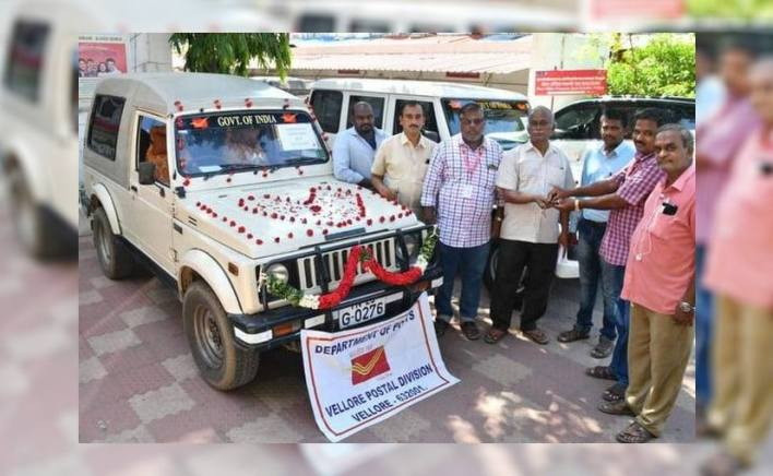 The Maruti Gypsy was purchased by the department in 1999 and has served since   Photo Credit: The Hindu