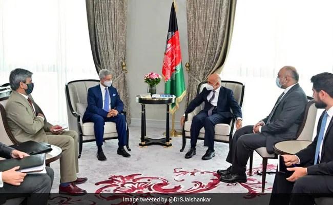 S Jaishankar Meets Afghan President;  Discusses Situation In Afghanistan