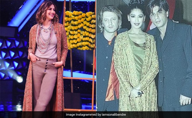 Sonali Bendre wore a jacket that is 'at least two decades old'.  designer looks
