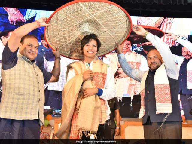Tokyo Games: Assam Government Presents Rs 1 Crore To Olympic Medallist Lovlina Borgohain, Offers Deputy SPs Post