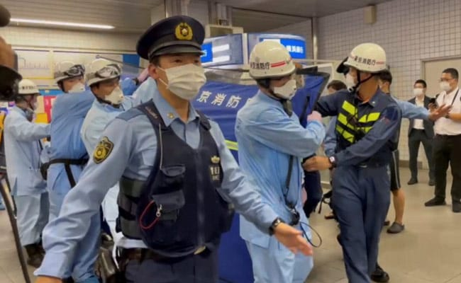 Knife Attacker On Tokyo Train Wanted To Kill 'Happy Women': Report