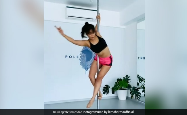 Kim Sharma And Her 'Mid-Week Spin.' See Pole Dance Video