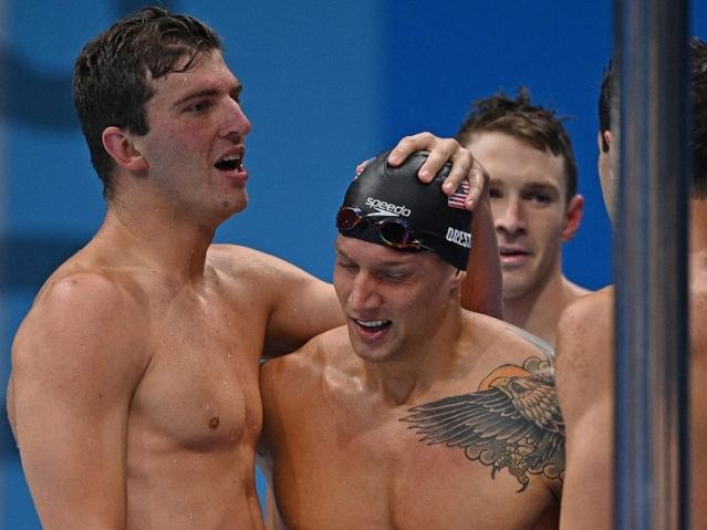 Tokyo Olympics: US Swimmers Smash World Record To Win Mens 4x100m Medley Relay Gold